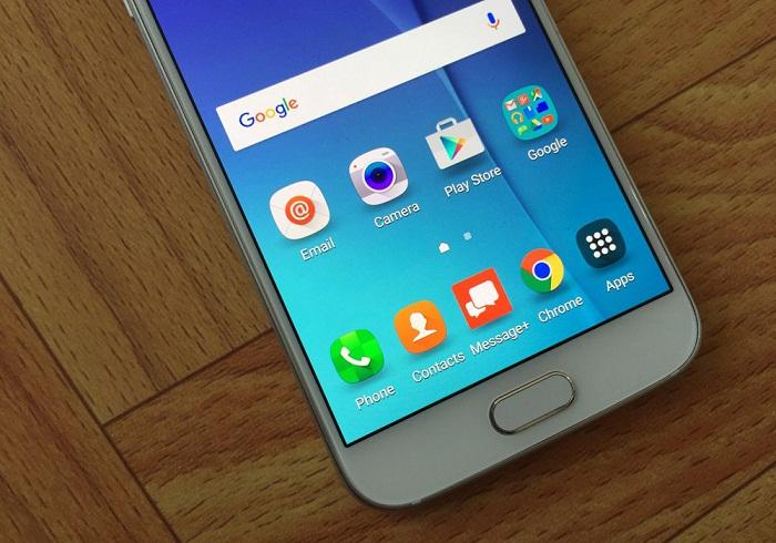 Đập hộp Samsung Galaxy S6 32GB 6
