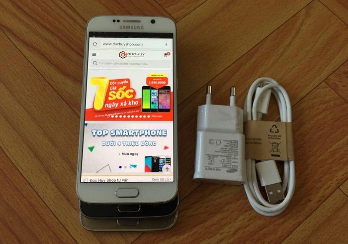 Đập hộp Samsung Galaxy S6 32GB