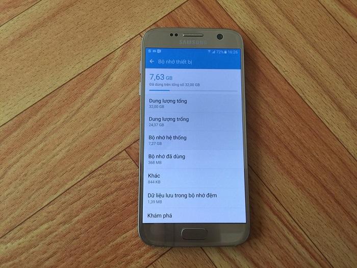 Đập hộp Samsung Galaxy S7 32GB 13