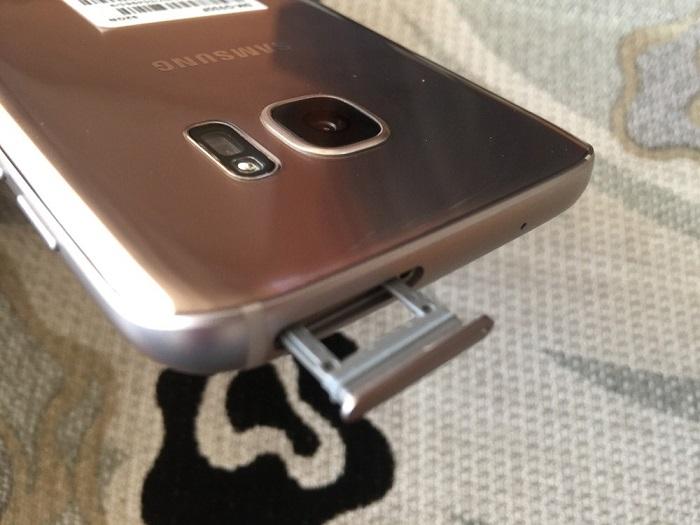 Đập hộp Samsung Galaxy S7 32GB 6
