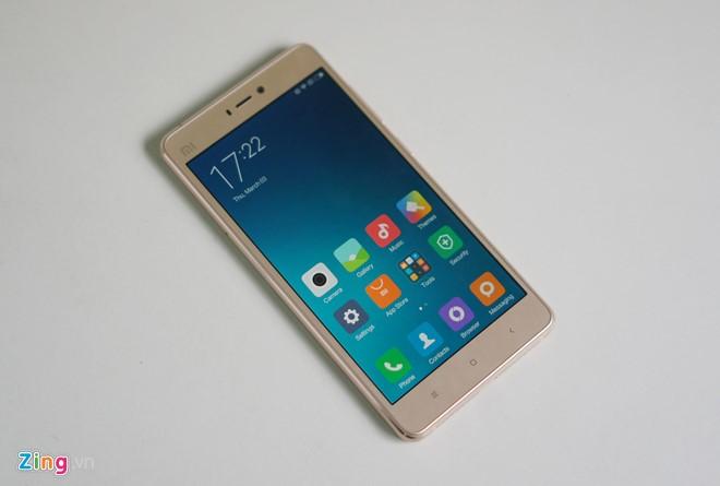Trên tay Xiaomi Mi 4s thiết kế đẹp