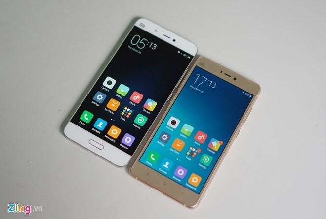 Trên tay Xiaomi Mi 4s thiết kế đẹp 10