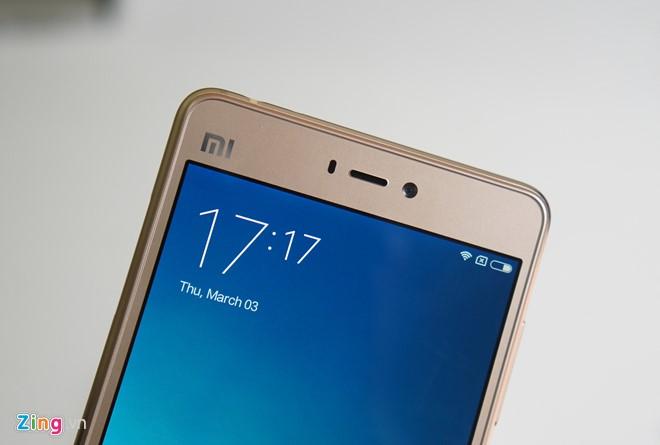 Trên tay Xiaomi Mi 4s thiết kế đẹp 2