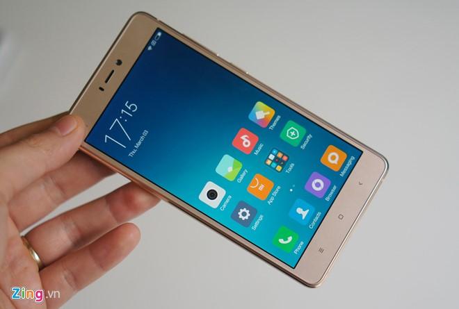 Trên tay Xiaomi Mi 4s thiết kế đẹp 8