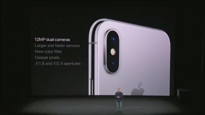 Camera trên iPhone X