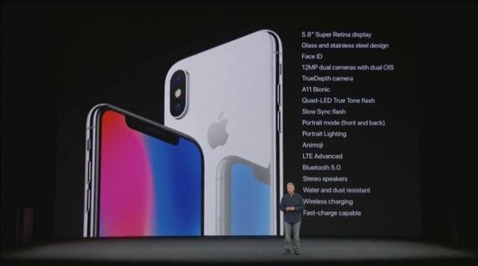 Cấu hình iPhone X