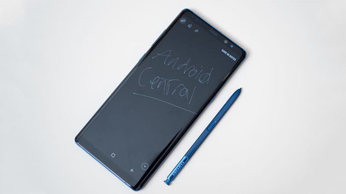 Mặt trước Samsung Galaxy Note 8 256GB