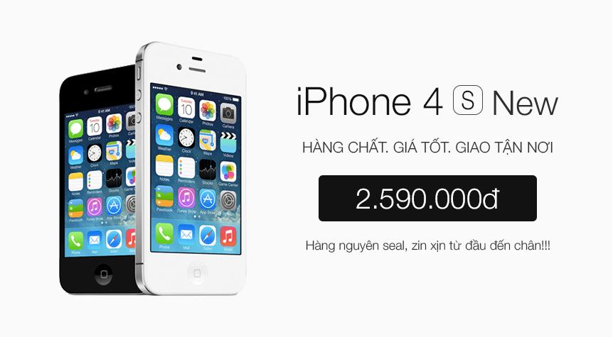iPhone 4S 8GB (Chưa Active, Đủ BH)