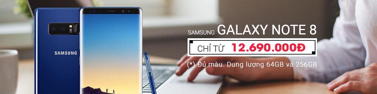 Samsung Galaxy Note 8 giá rẻ