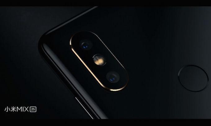 Xiaomi Mi Mix 2S chính hãng xách tay thiết kế camera