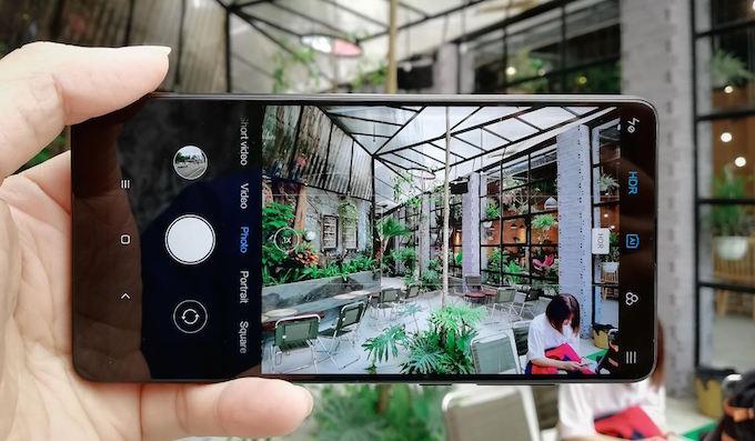 Xiaomi Mi Mix 2S chính hãng xách tay camera