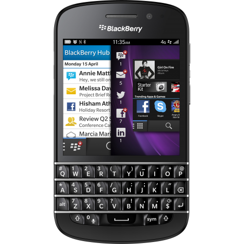 BlackBerry Q10 No Bis Mới 100% (Nobox)