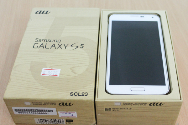 Samsung Galaxy S5 Au Xách Tay Nhật