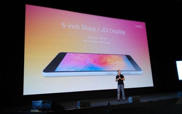 Xiaomi Mi 4i màn hình 5 inch full hd chất lượng