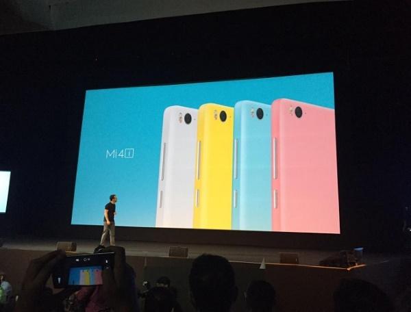 Xiaomi Mi 4i màu sắc trẻ trung