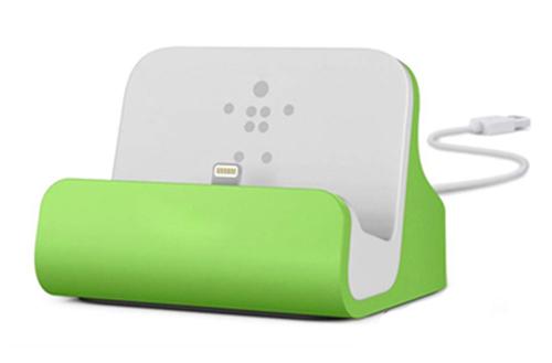Màu sắc trên dock sạc iphone 5, 5s