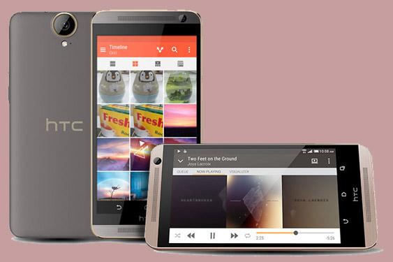 Thiết kế khá lớn trên HTC One E9