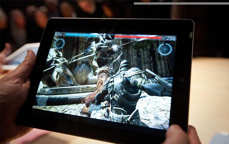iPad 3 64GB - 3G Wifi Cũ (Like New 99%) trang bị cấu hình mạnh mẽ