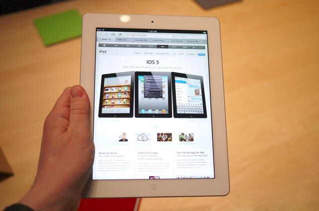 iPad 3 32GB hiển thị sắc nét