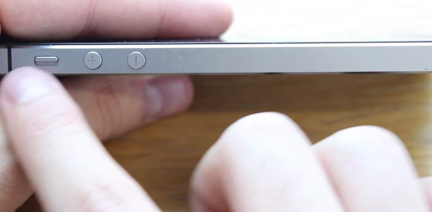 Hình ảnh cận cảnh thiết kế iPhone 5S Lock