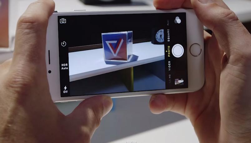 Camera trang bị trên iPhone 6 Lock 16GB là 8 MP