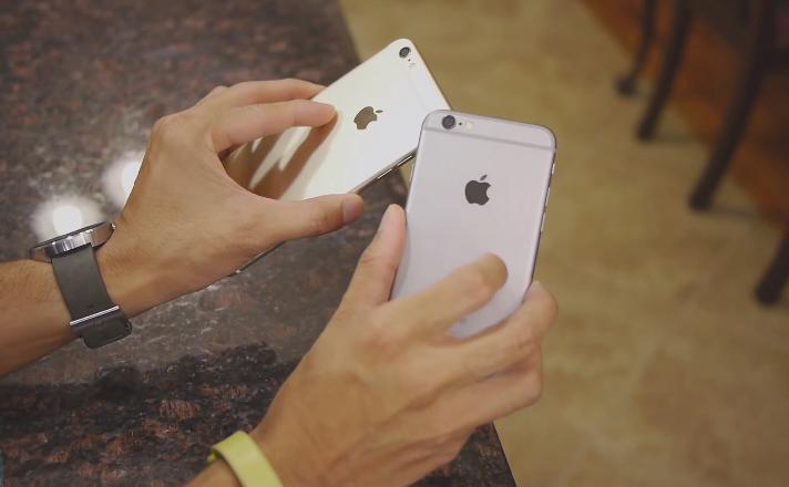 Hình ảnh cặp đôi iPhone 6 Plus Lock và iPhone 6