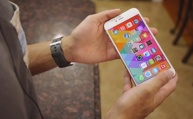 Màn hình lớn trên iPhone 6 Plus Lock 16GB