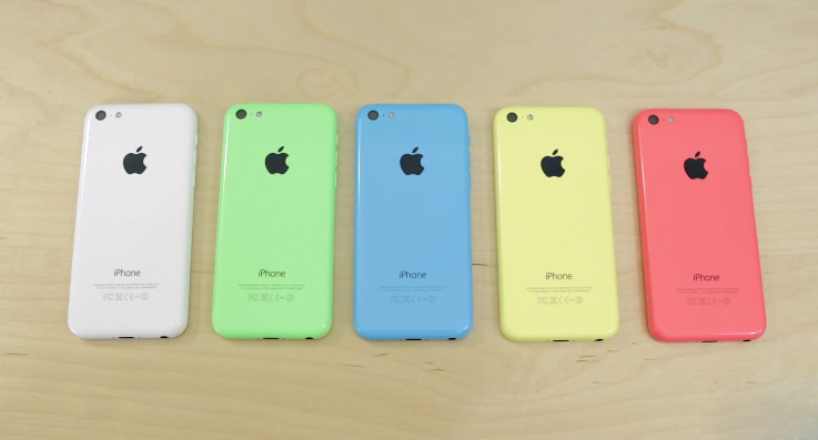 iPhone 5C Lock sở hữu rất nhiều màu sắc nổi bật