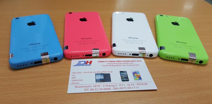 Cận cảnh iPhone 5C