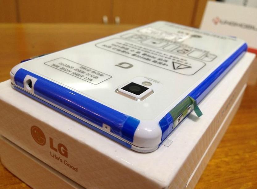 Hình ảnh mở hộp LG Optimus G F180