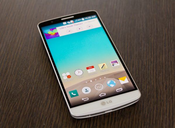 LG G3 2 Sim Dual LTE D858 thiết kế mặt trước
