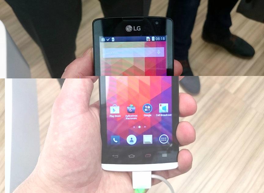 LG Joy màn hình 4 inhc