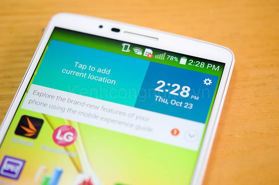 LG Liger f490 màn hình đjep