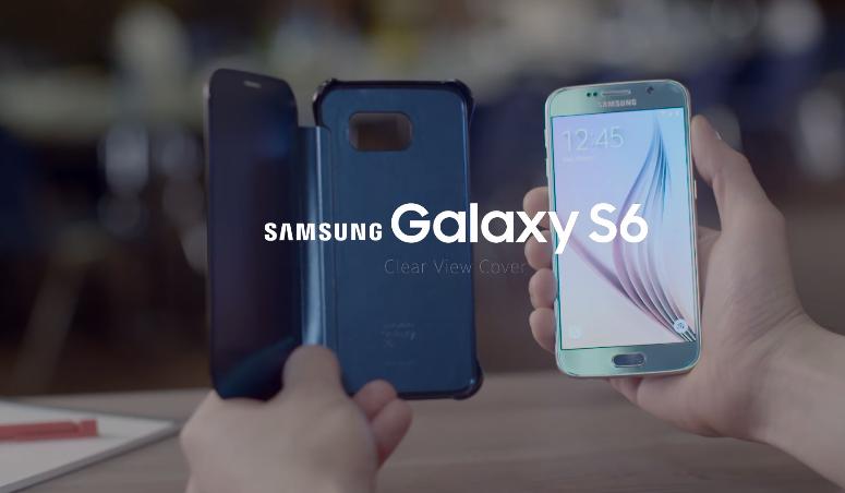 Hình ảnh bao da Samsung Galaxy S6