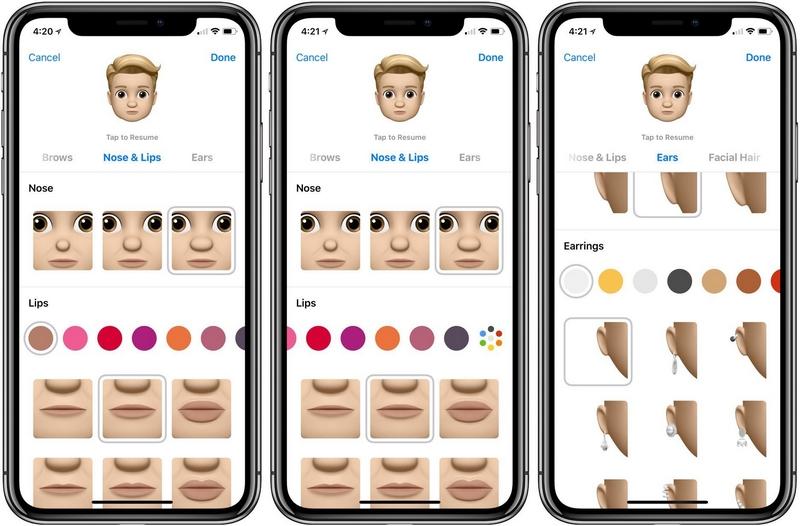 mẹo tạo memoji mới cho iPhone