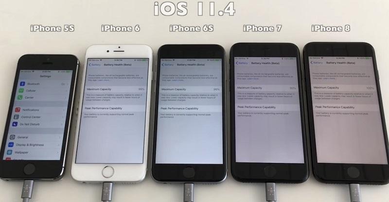 cập nhật ios 11.4