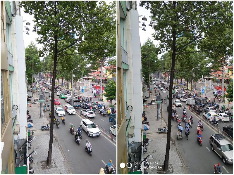 hình chụp camera x6, 6x đường phố