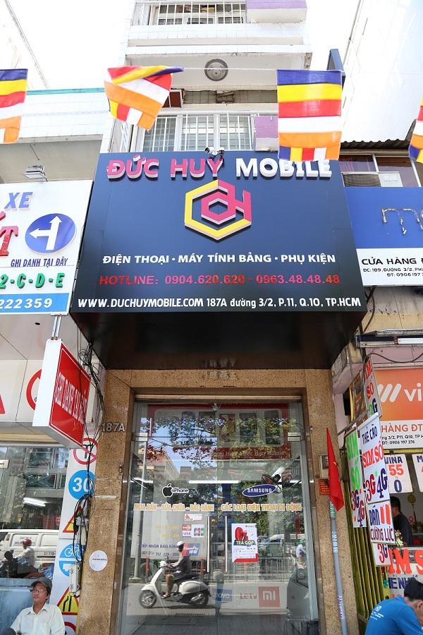 cửa hàng đức huy mobile mới