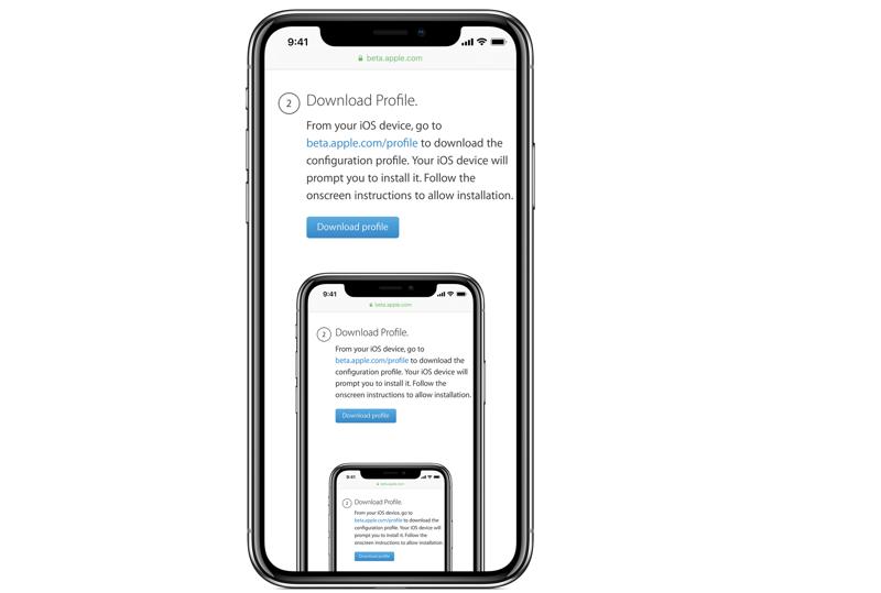 ios 12 public beta download bước 4
