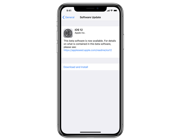 ios 12 public beta download bước 7