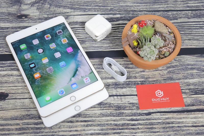 Mặt trước iPad Mini 4 4G + Wifi