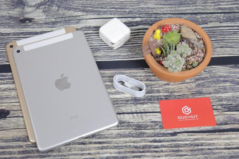 iPad Mini 4 4G Wifi được tạo nên từ chất liệu nguyên khối