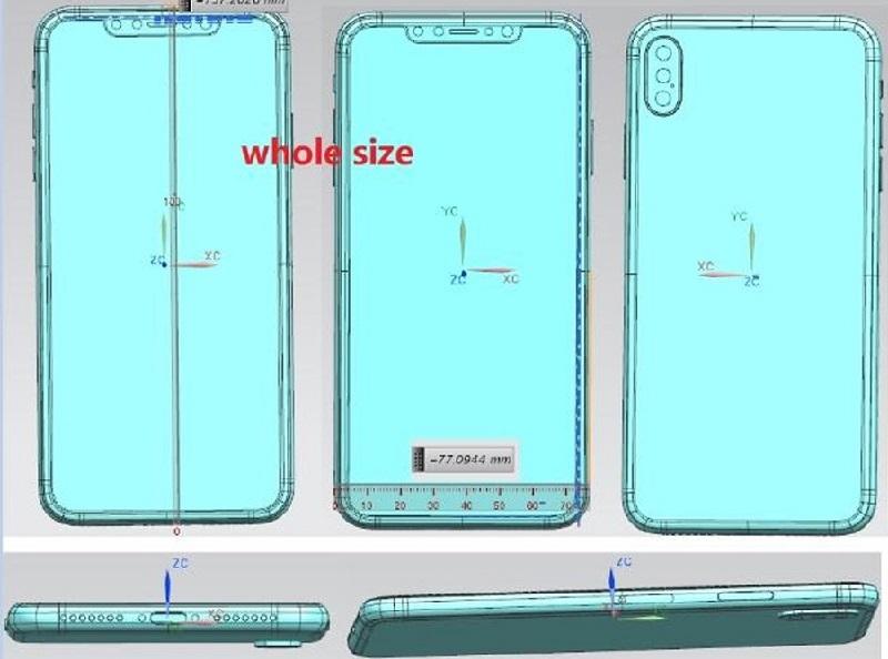iphone x plus bản vẻ