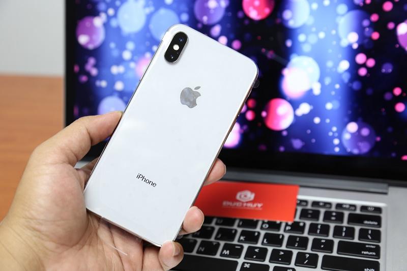 iphone x máy màu trắng