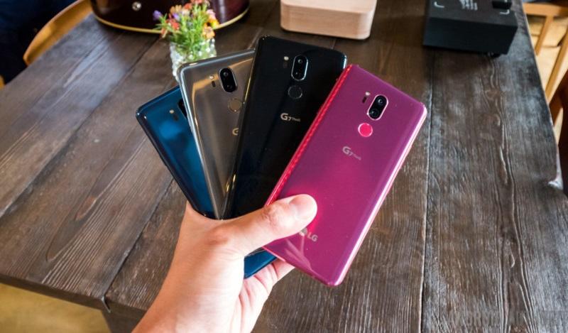 LG G7 ThinQ cũ phiên bản màu