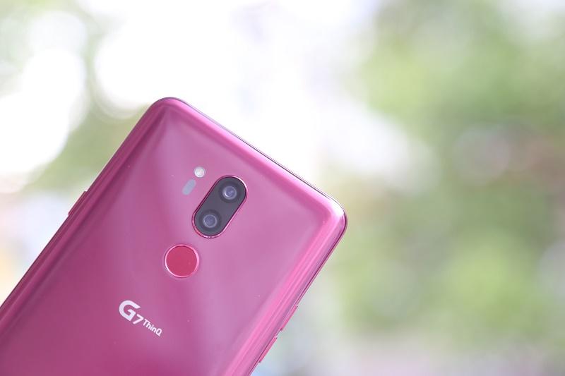 lg g7 thinq đánh giá camera