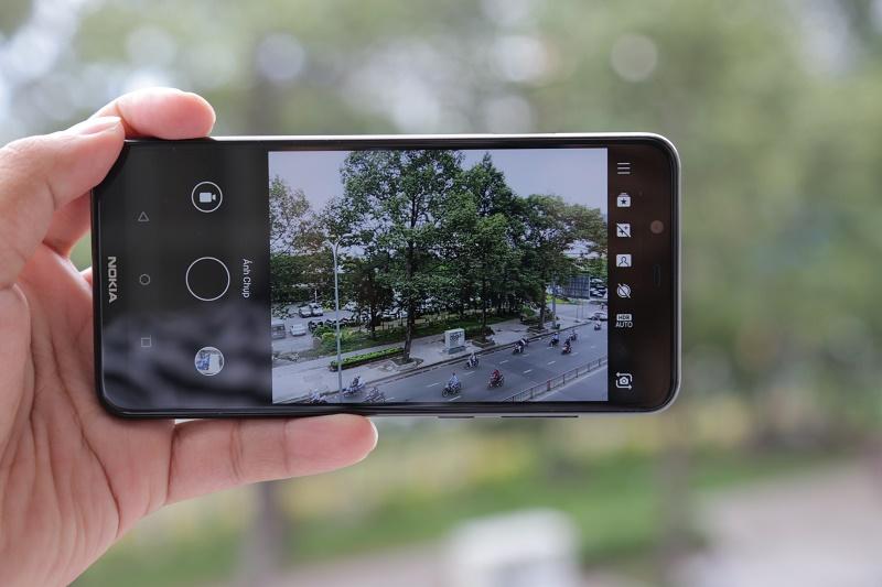 Nokia X5 camera kép