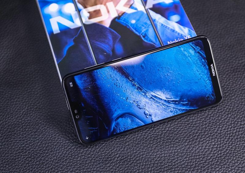 đánh giá nokia x6 giá rẻ thiết kế màn hình