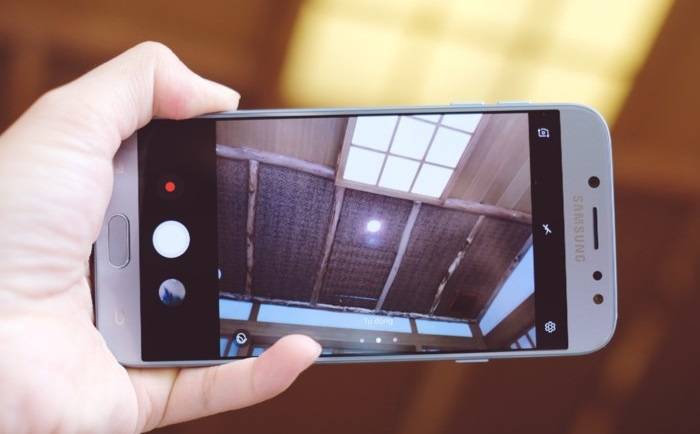 ảnh minh họa Samsung Galaxy J8 camera