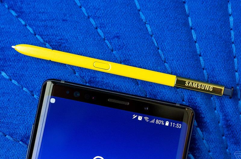 Samsung galaxy note 9 đánh giá camera